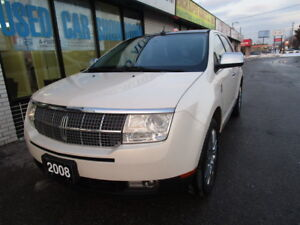 2008 Lincoln MKX SUV, AWD,NAVIGATION,PANO-ROOF,CERTIFIED,B.TOOTH