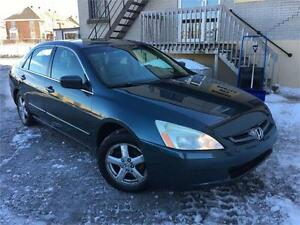 HONDA ACCORD 2005 AUTO / CUIR / MAGS / TOIT OUVRANT !!