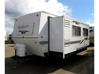 2007 KOMFORT TRAIL BLAZER 284 TRAVEL TRAILER IDEAL FOR LAKE LOT