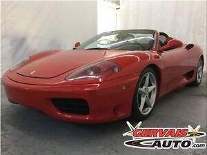 Ferrari 360 Modena Spider F1 Convertible Cuir MAGS 2003