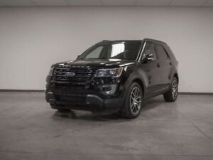 2017 Ford Explorer SPORT AWD LEATHER NAV ROOF 3RD ROW