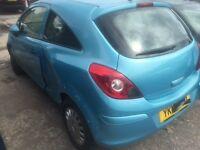 2012 VAUXHALL CORSA S SEMI AUTO LIGHTLY DAMAGED SALVAGE