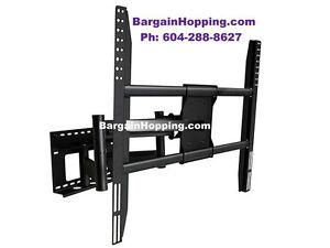 "52-90"" Adjustable Tilting Swiveling Pull Out TV Wall Mount Brack"