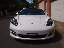 2013 Porsche Panamera 970 MY13 4 Carrara White 8 Speed Sports Automatic Sedan Petersham Marrickville Area Preview