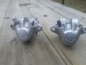 80 81  suzuki gs front break calipers