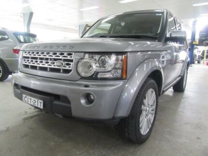 2012 Land Rover Discovery 4 MY12 3.0 SDV6 SE Silver 6 Speed Automatic Wagon
