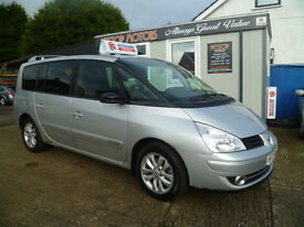 2008RENAULT G-ESPACE QUEST 150BHP! ALL CREDIT/ DEBIT CARDS ACCEPTED!!