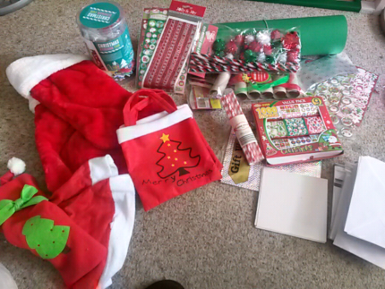 DIY Xmas Stuff price negotiable - all together or individual