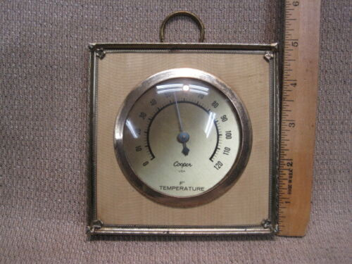 Vintage Cooper Analog Wall Thermometer