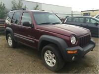 2004 JEEP LIBERTY SPORT V6 4X4 FANTASTIC CONDITION!! Edmonton Edmonton Area Preview