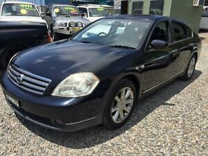 2005 Nissan Maxima J31 ST-L Black 4 Speed Automatic Sedan Jewells Lake Macquarie Area Preview
