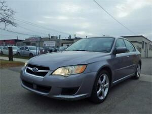 08 SUBARU LEGACY 2.5 AWD! LOW KM, CERTIFIED!