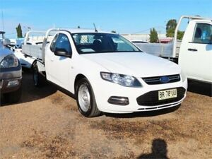 2012 Ford Falcon FG MkII EcoLPi Super Cab Winter White 6 Speed Sports Automatic Cab Chassis Mount Druitt Blacktown Area Preview