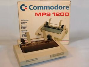 Wanted: Commodore MPS-1000, MPS-1200 or MPS-1250 Printer