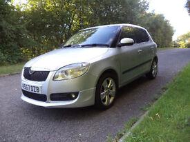 2008-SPORT-New Shape-Skoda Fabia - 1.9 TDI Diesel / 105 bhp - Cambelt + Good Spec - 5dr