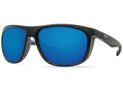 09c73906170f Costa Del Mar Kiwa Polarized Sunglasses 400G Glass Matte Black Teak/Blue  Mirror