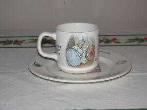 """CHILD""""S COLLECTOR WEDGEWOOD CHINA"""