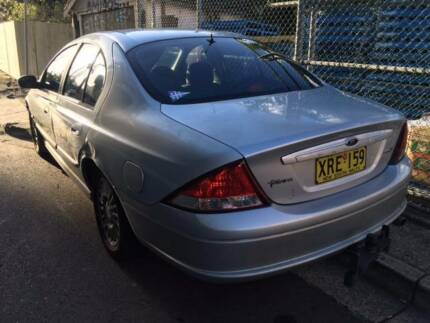 2001 Ford Falcon Sedan LPG Rego 31 december