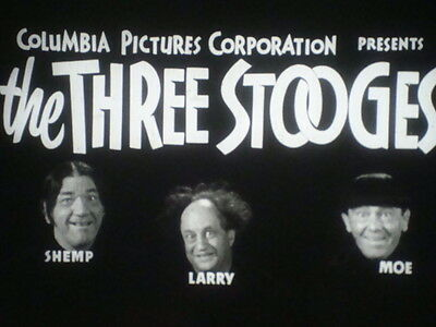 "35mm Short Subject ""SPOOKS"" with THREE STOOGES (this is the Right Side of 3-D)"