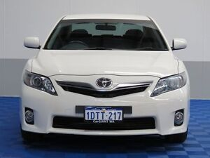 2011 Toyota Camry AHV40R Hybrid Diamond White Continuous Variable Sedan East Rockingham Rockingham Area Preview