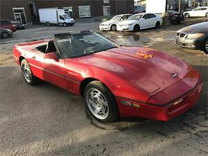 1990 CHEVROLET CORVETTE CONVERTIBLE AUTOMATIQUE A QUI LA CHANCE