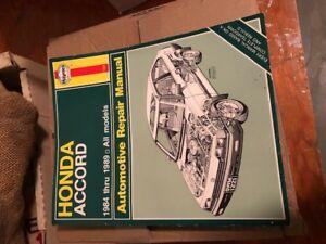 Honda Accord Manual