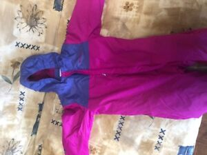 Columbia Snow suits girl  V good condition