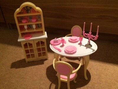 Vintage Toy Barbie Dining Room Set 1990's for sale  Dunmow