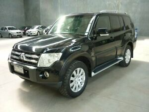 2007 Mitsubishi Pajero NS Exceed Black 5 Speed Sports Automatic Wagon Grovedale Geelong City Preview
