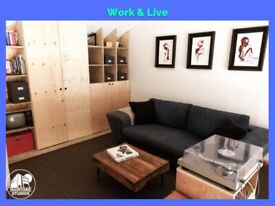 EN3 Creative OFFICE Space  LIVE&WORK  Studio  Warehouse  Programming/Sewing/Robotics   ALMOST READY!