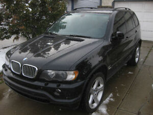 2003 BMW X5 4.6 is SUV, Crossover AWD excellent condition