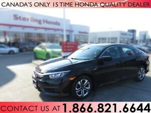 2016 Honda Civic Sedan LX | 1 OWNER | HONDA CERTIFIED