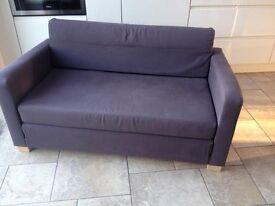 Sofa Bed. colour Aubergine