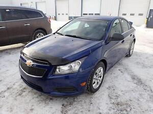 2012 CHEVROLET CRUZE LS 4 CYL GREAT ON GAS EASY FINANCE