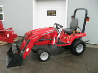 Massey Ferguson GC Series 25hp Tractor with low hrs