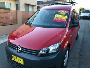 2011 Volkswagen Caddy 2K MY11 Life TDI250 Red 5 Speed Manual Wagon Waratah Newcastle Area Preview