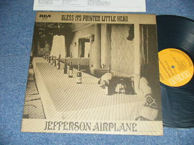 JEFFERSON AIRPLANE Japan 1979 Reissue PG-115 NM LP BLESS ITS POINTED LITTLE HEAD
