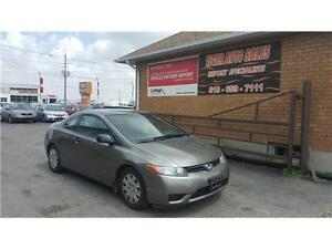 2006 Honda Civic Cpe DX-G **156 KMS***AUTOMATIC***2 DOOR***** London Ontario image 1