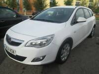 Vauxhall Astra 1.3 CDTi ecoFLEX 16v Exclusiv 5dr (start/stop) Good / Bad Credit Car Finance 2011