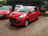 2013 Peugeot 107 1.0 12v 68bhp Allure 5DR SALVAGE DAMAGED REPAIRABLE DRIVES