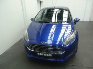 2013 Ford Fiesta WZ Ambiente Blue 5 Speed Manual Hatchback Cardiff Lake Macquarie Area Preview