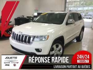 2011 Jeep Grand Cherokee Limited, NAV, CUIR,DVD,TOIT,CAM, 5.7L