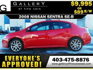 2008 Nissan Sentra SE-R $89 BI-WEEKLY APPLY NOW DRIVE NOW