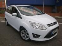 62 FORD GRAND C-MAX 1.6 TDCI 7 SEATER DIESEL *PARKING SENSORS*