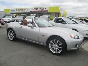 2007 Mazda MX-5 NC30F1 MY07 Roadster Coupe Silver 6 Speed Sports Automatic Hardtop Kedron Brisbane North East Preview