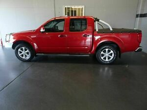 2013 Nissan Navara D40 MY12 ST (4x4) Red 5 Speed Automatic Dual Cab Pick-up Woodridge Logan Area Preview