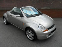 STUNNING FORD KA CONVERTIBLE 12 MONTHS MOT LOW MILEAGE FSH MINT CONDITION