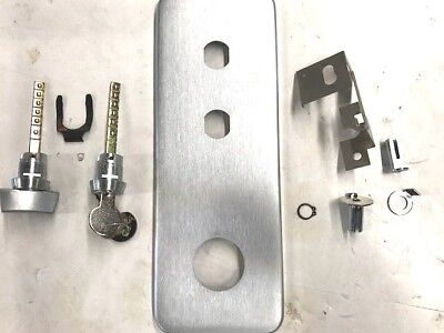 Locksmith Kaba Ilco L 1021 To 1041 Function Passage Conversion Kit Dull Chrome