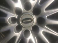 """YES!! Still available as still listed!! 18"""" Alloy Wheels with Tyres £100"""