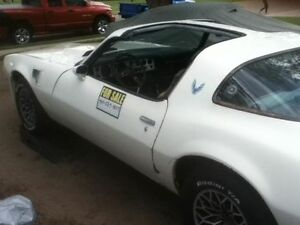 1981 Turbo Trans Am T Top Project